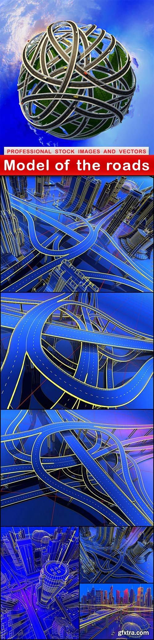 Model of the roads - 7 UHQ JPEG