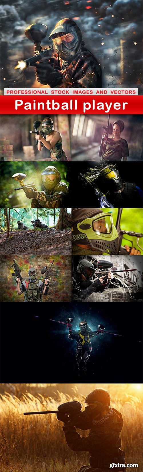 Paintball player - 11 UHQ JPEG