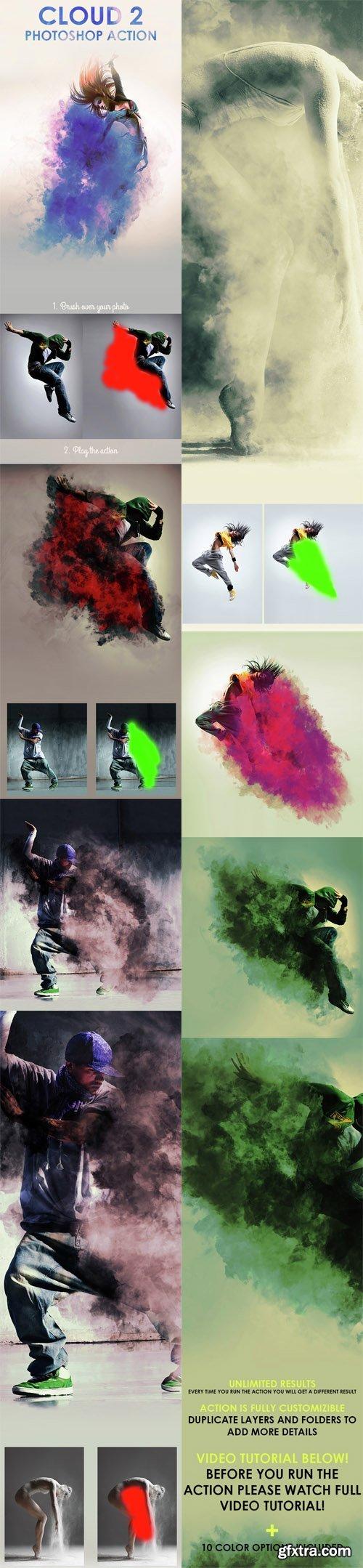 GraphicRiver - Cloud 2 Photoshop Action 14749668