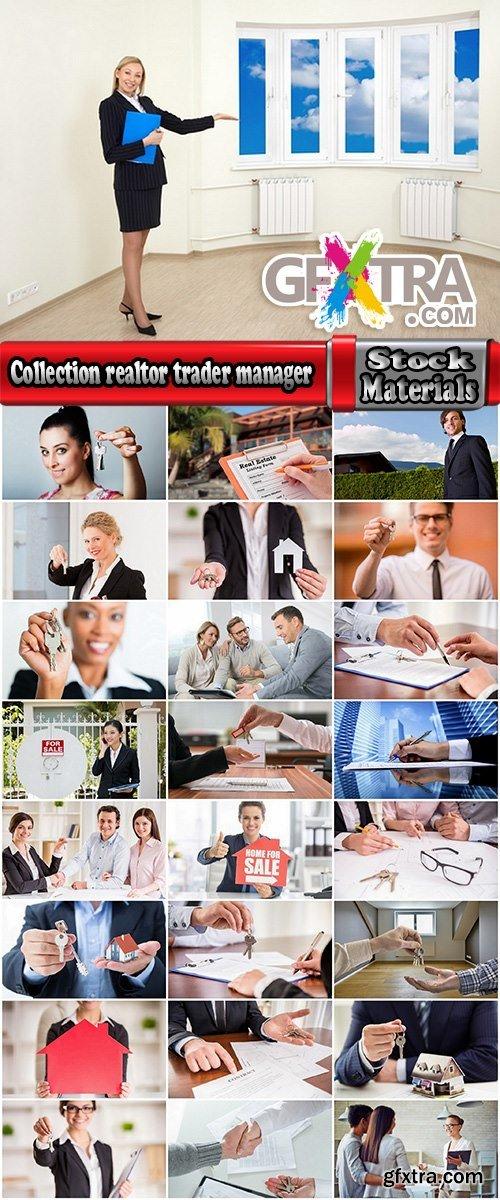 Collection realtor trader manager rental real estate property 25 HQ Jpeg