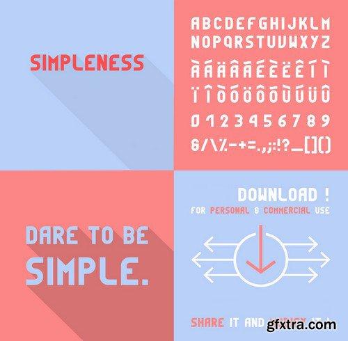 Simpleness Font