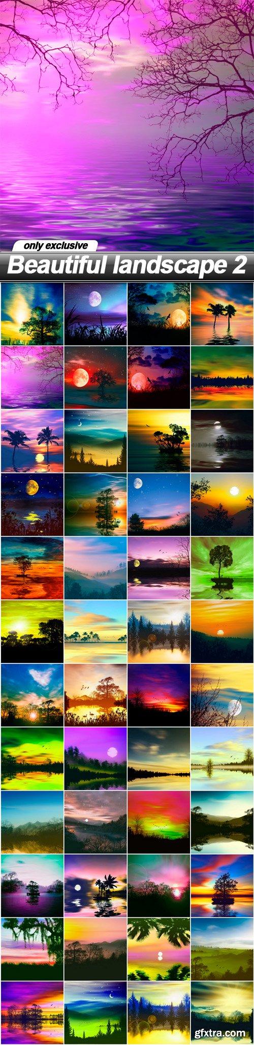 Beautiful landscape 2 - 48 UHQ JPEG