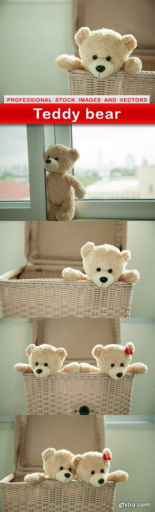 Teddy bear - 5 UHQ JPEG