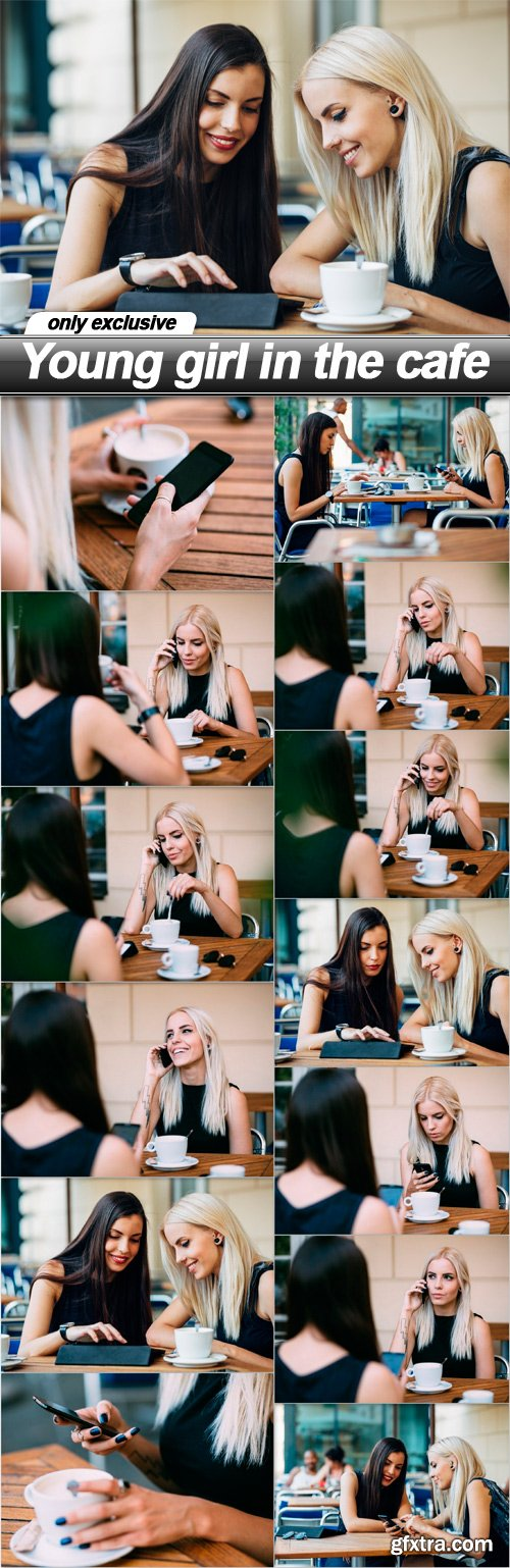 Young girl in the cafe - 13 UHQ JPEG