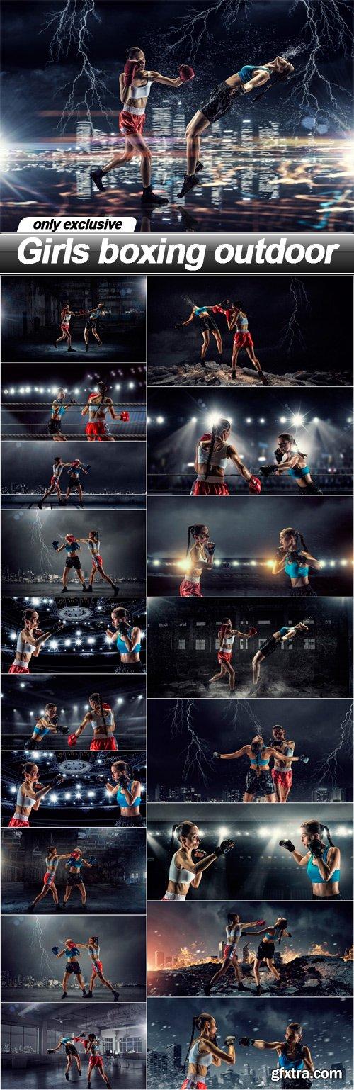 Girls boxing outdoor - 19 UHQ JPEG