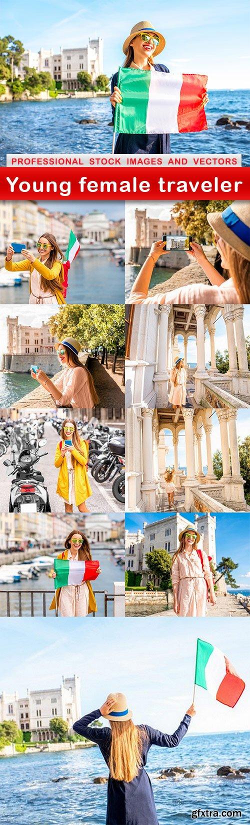 Young female traveler - 10 UHQ JPEG