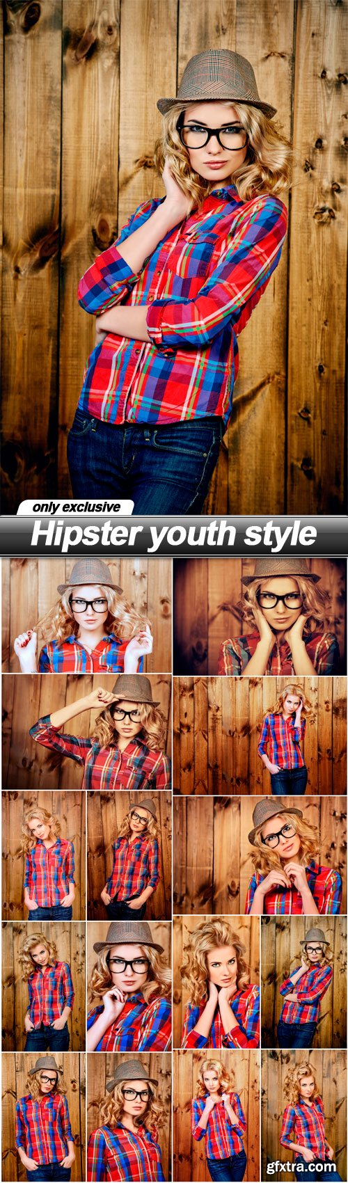 Hipster youth style - 15 UHQ JPEG
