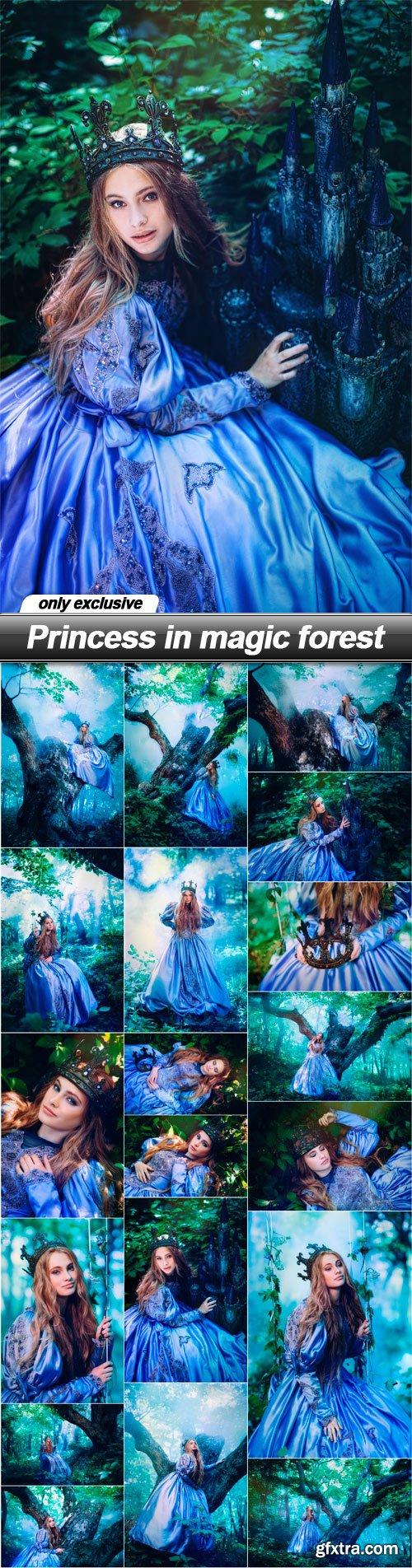 Princess in magic forest - 19 UHQ JPEG
