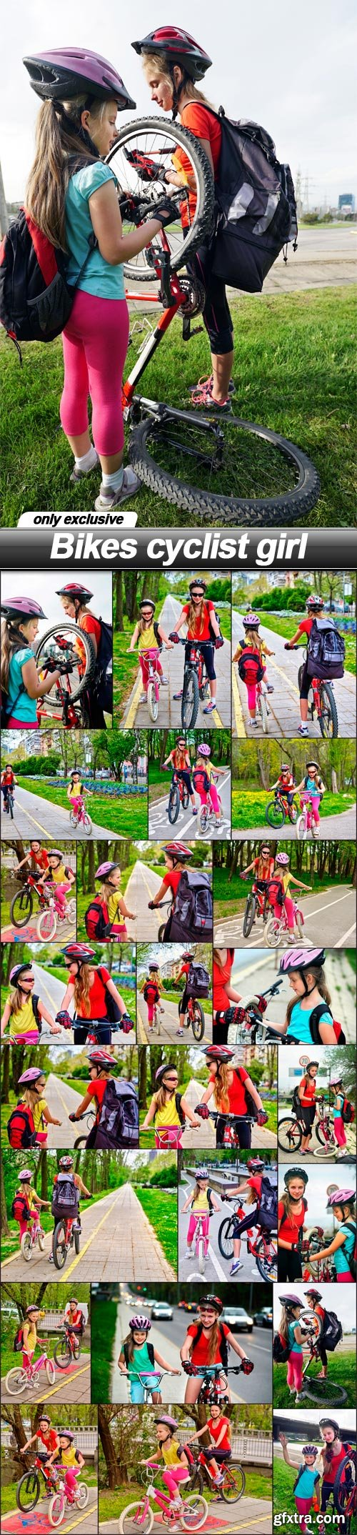 Bikes cyclist girl - 24 UHQ JPEG