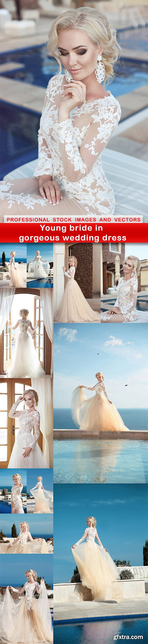 Young bride in gorgeous wedding dress - 13 UHQ JPEG
