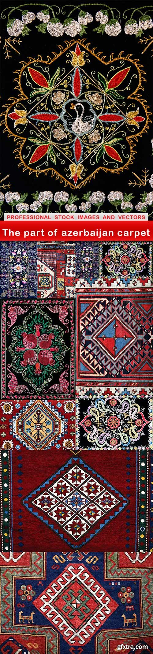 The part of azerbaijan carpet - 11 UHQ JPEG