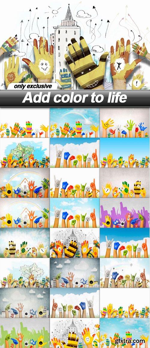 Add color to life - 25 UHQ JPEG