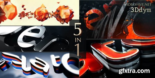 Videohive Logo Reveal Pack 17344059