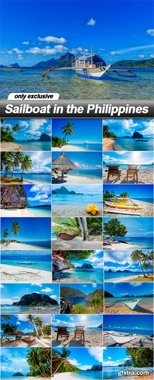 Sailboat in the Philippines - 25 UHQ JPEG