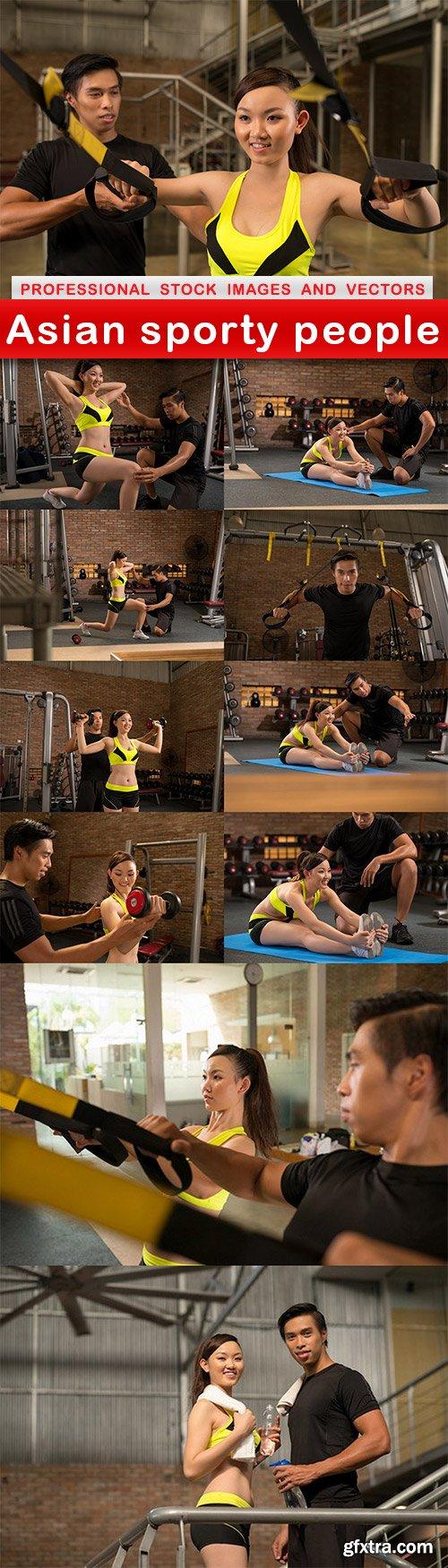 Asian sporty people - 11 UHQ JPEG