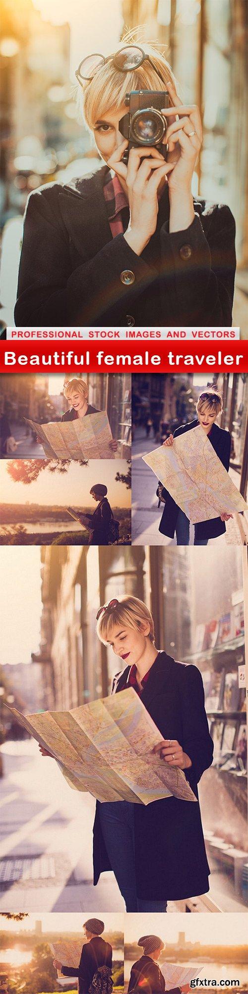 Beautiful female traveler - 7 UHQ JPEG