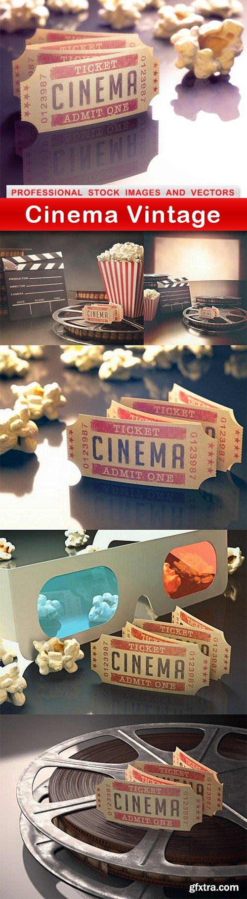 Cinema Vintage - 6 UHQ JPEG