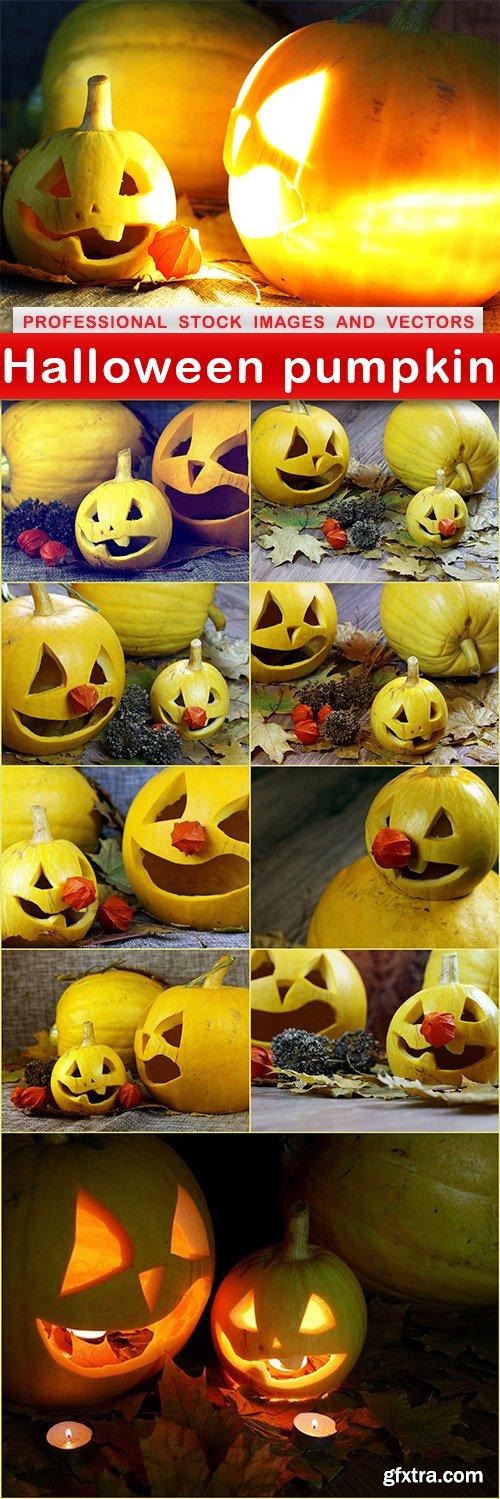 Halloween pumpkin - 10 UHQ JPEG