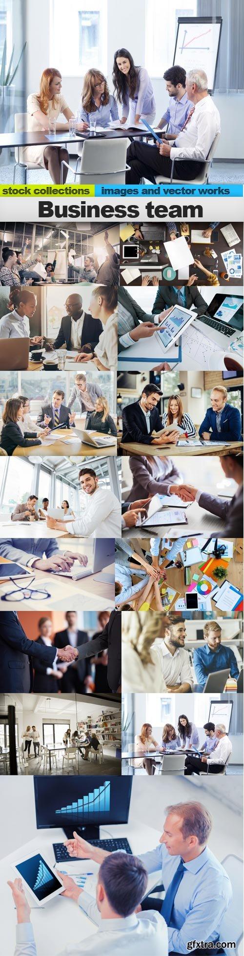 Business team, 15 x UHQ JPEG