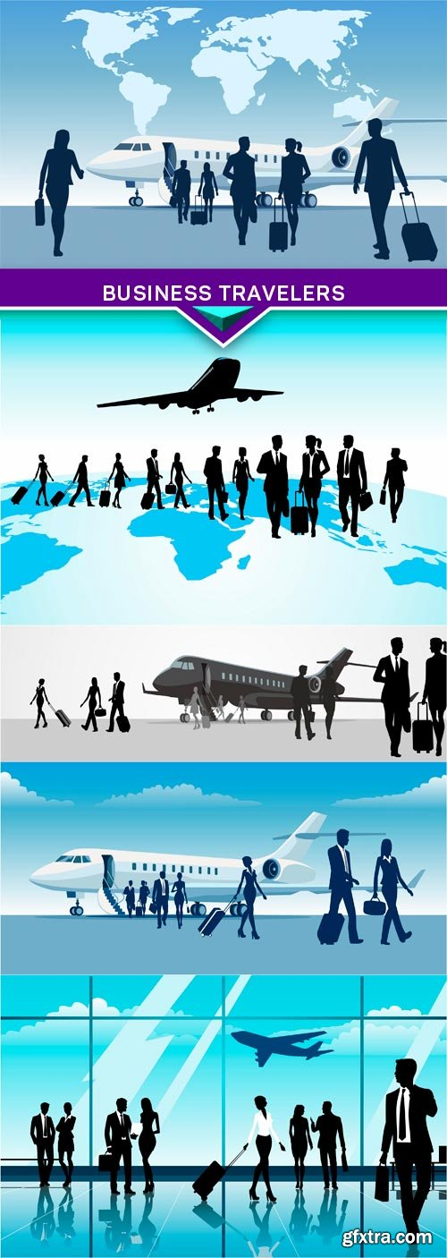 Business travelers 5X EPS