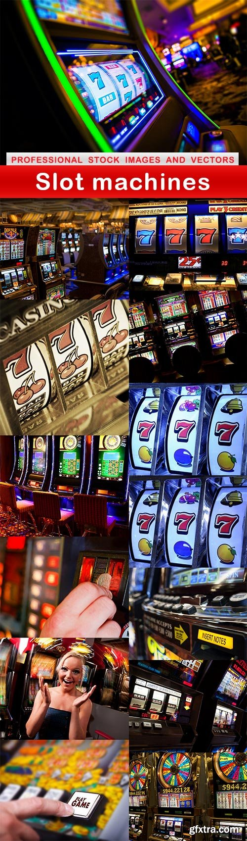 Slot machines - 14 UHQ JPEG