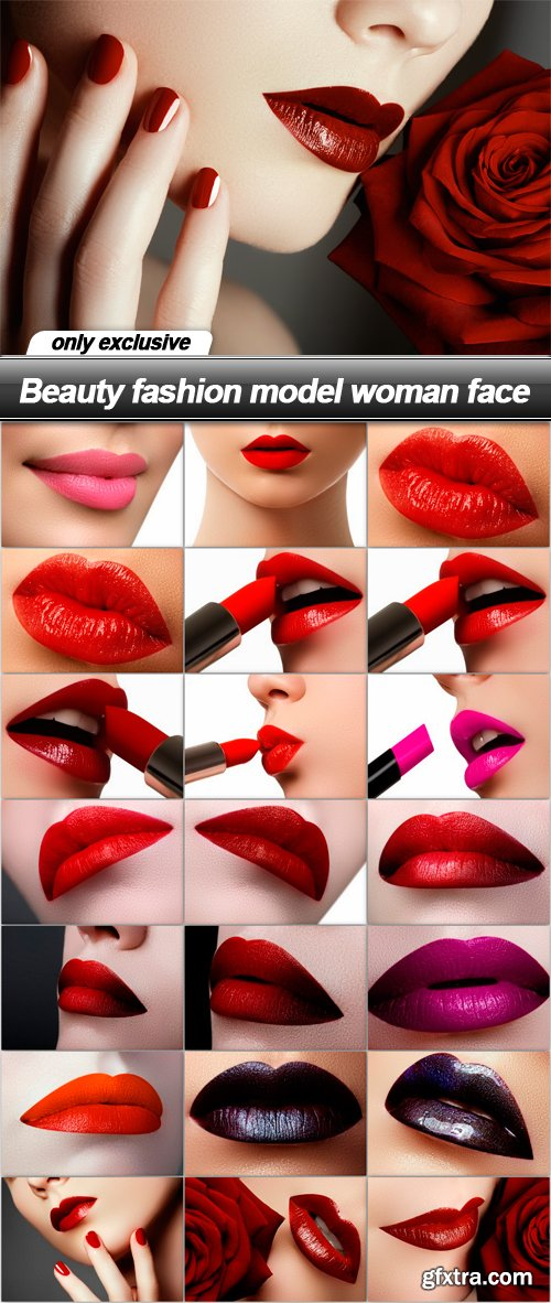 Beauty fashion model woman face - 22 UHQ JPEG