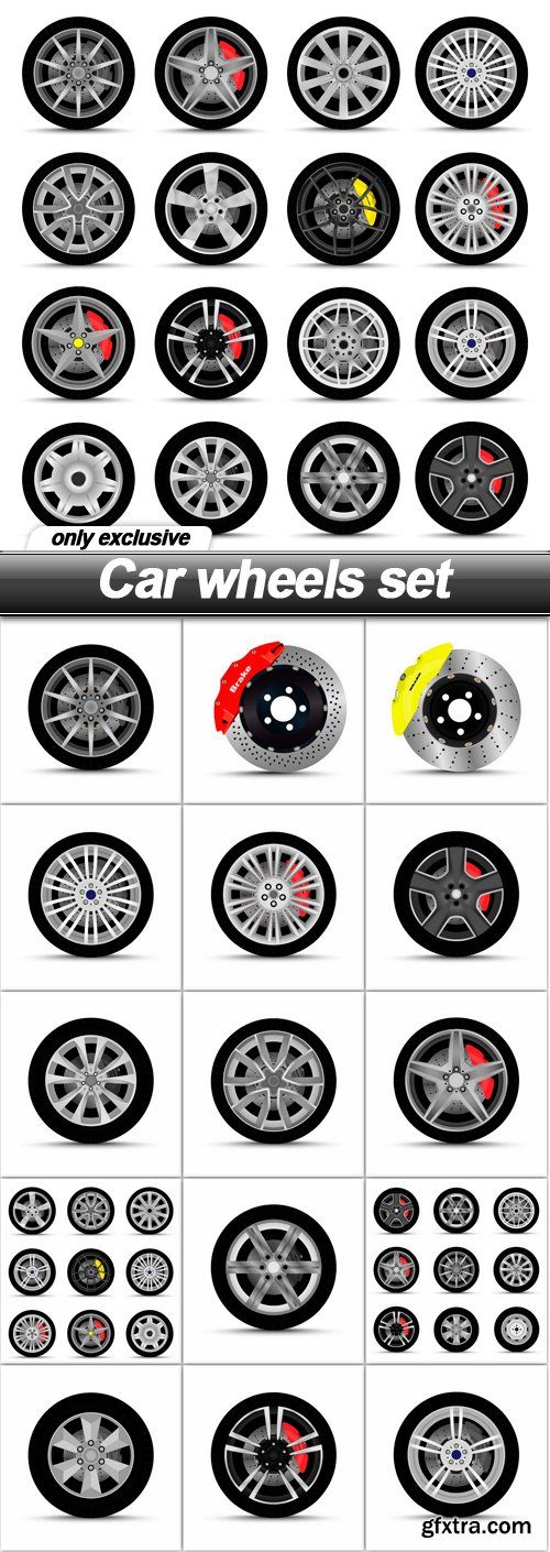 Car wheels set - 16 EPS