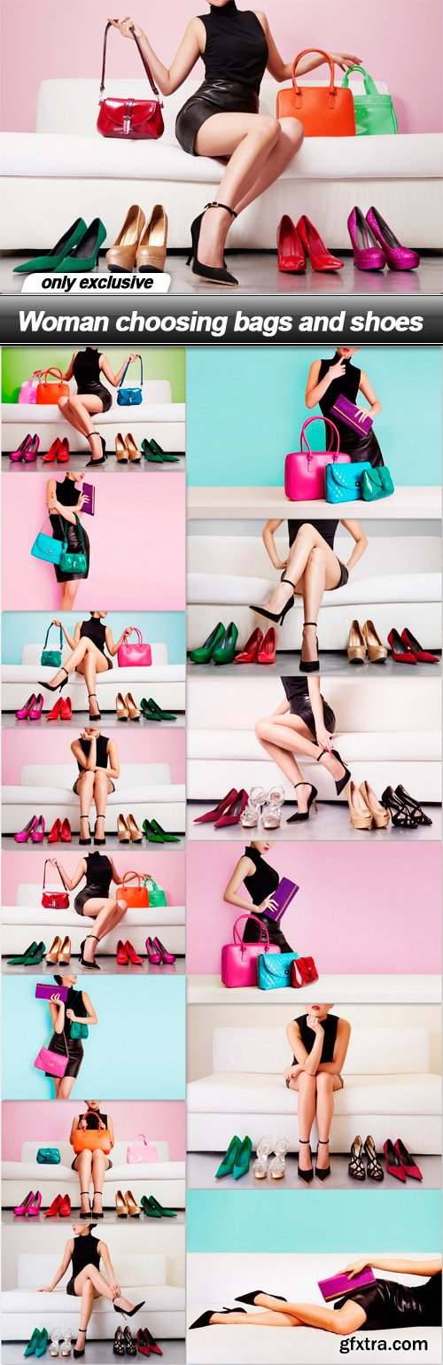 Woman choosing bags and shoes - 14 UHQ JPEG
