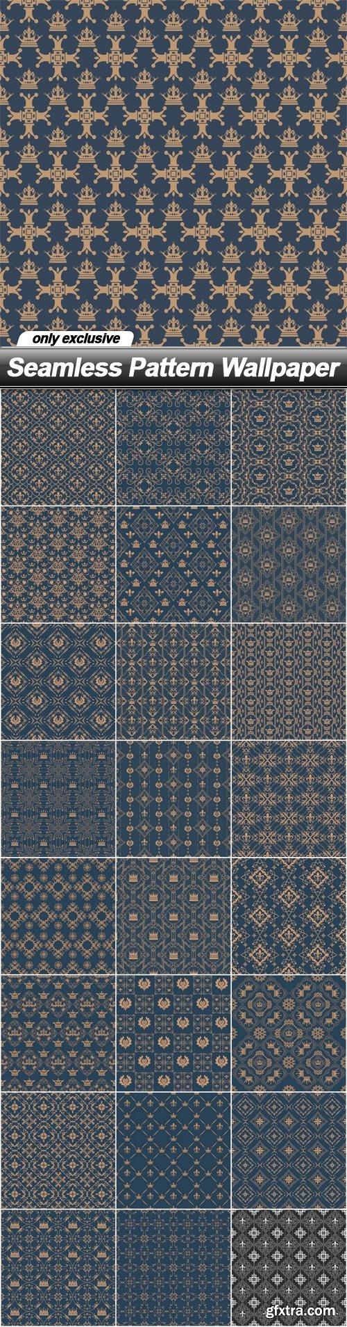 Seamless Pattern Wallpaper - 25 EPS