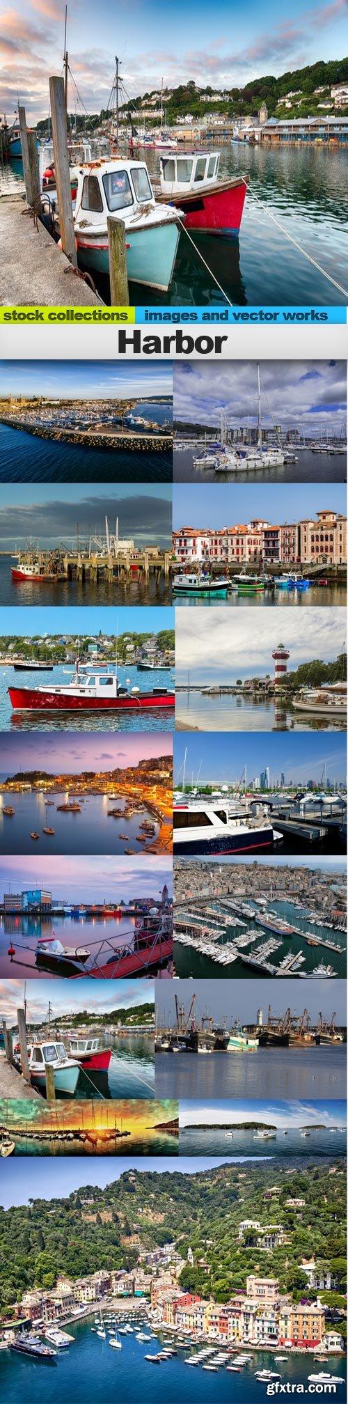 Harbor, 15 x UHQ JPEG