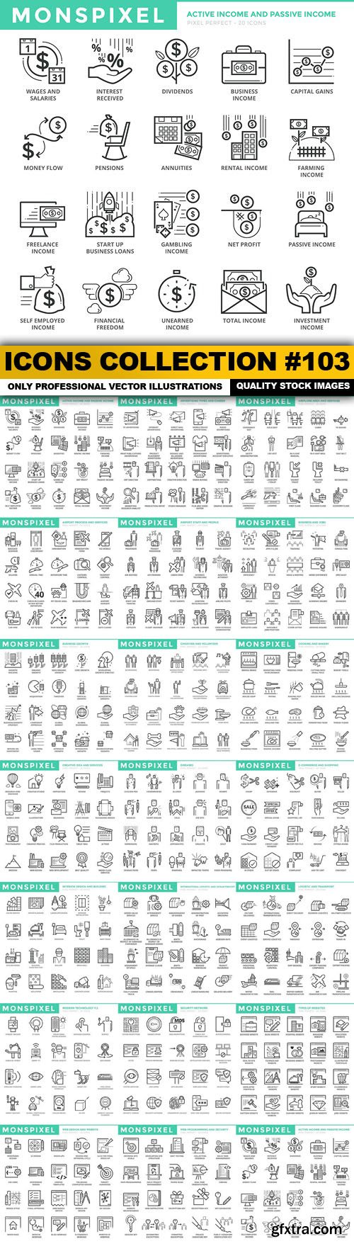 Icons Collection #103 - 20 Vector