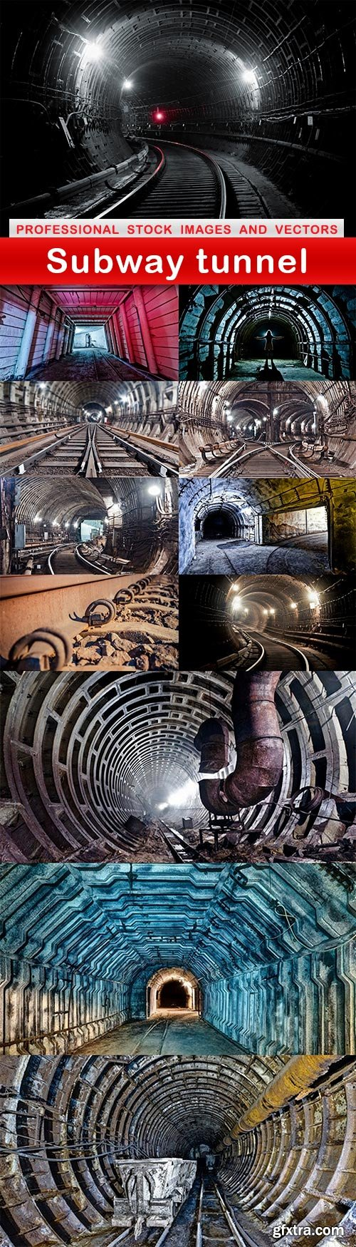 Subway tunnel - 12 UHQ JPEG