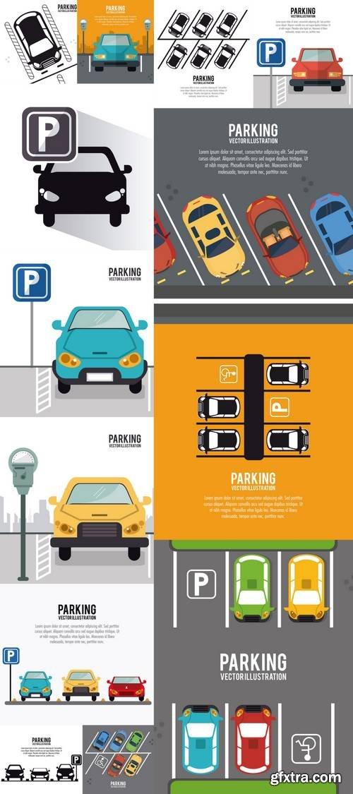 Car Vehicle Auto Parking Zone