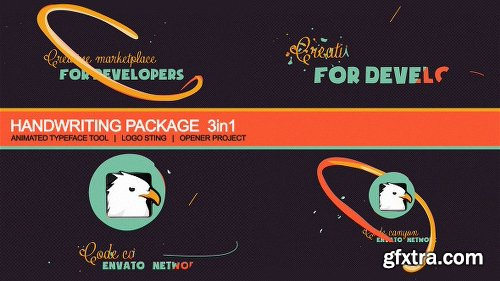 Videohive Handwriting Package: Animated Typography 4779365