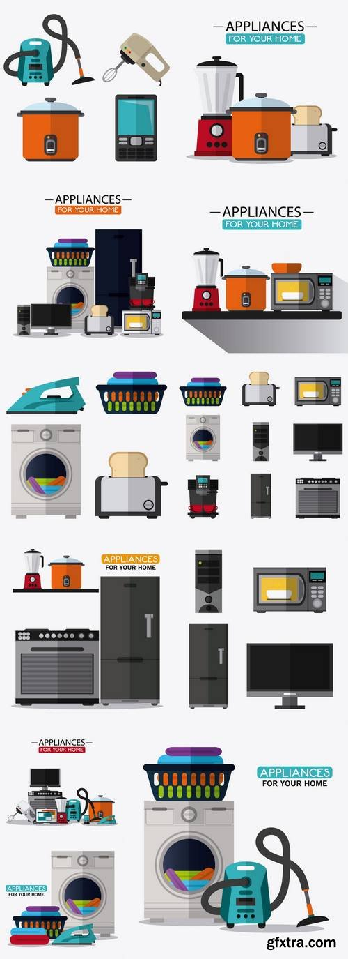 Appliances Supplies Electronic Home Icon
