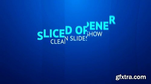 Sliced Opener - After Effects Template