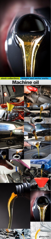 Machine oil, 15 x UHQ JPEG