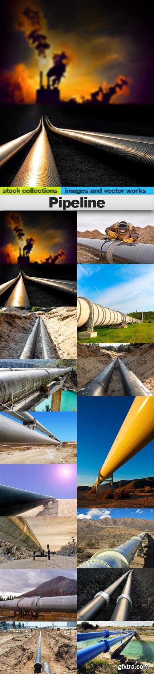 Pipeline, 15 x UHQ JPEG