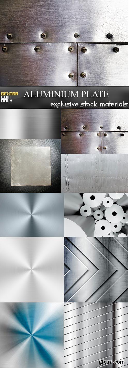 Aluminium Plate - 10 x JPEGs
