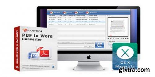 AnyMP4 PDF to Word Converter 3.0.67 (Mac OS X)