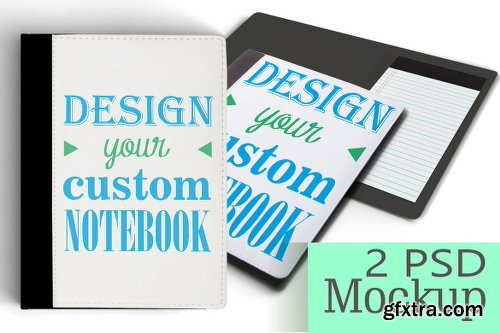 Personalized NoteBook Mockup DIY