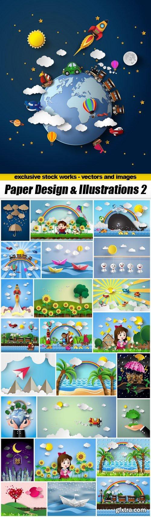 Paper Design & Illustrations 2 - 25xEPS