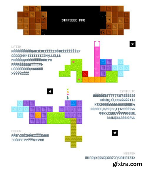 Starseed Pro - Typeface