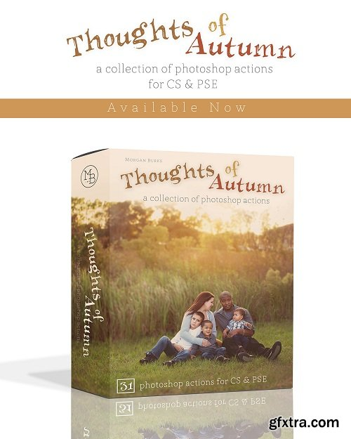 Morgan Burks Thoughts of Autumn Actions Collection