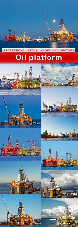 Oil platform - 12 UHQ JPEG