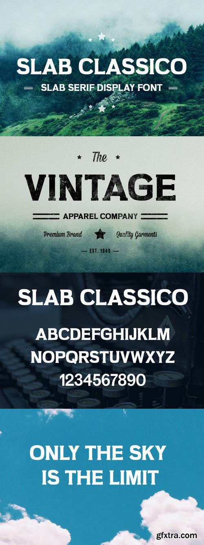 CM - Slab Classico - Vintage Serif Slab 713684