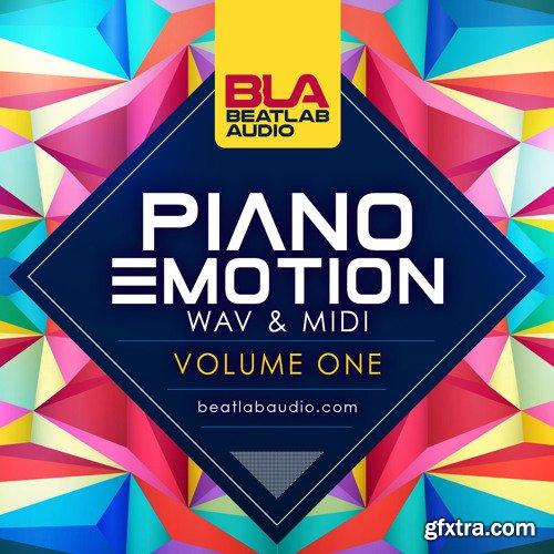 Beatlab Audio Piano Emotion Vol 1 WAV MiDi-DISCOVER
