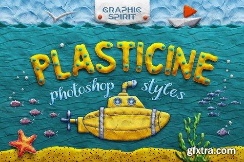 CM - PLASTICINE Photoshop Toolkit - 856276