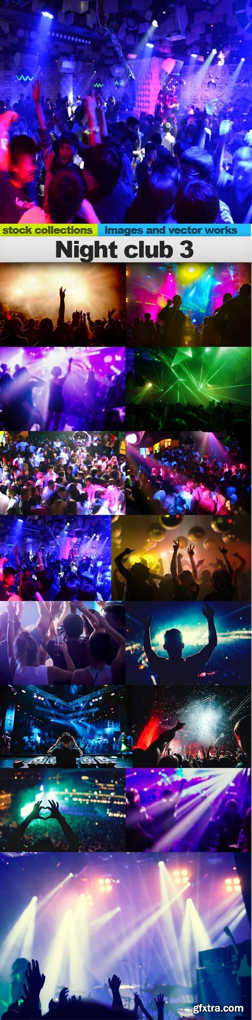 Night club 3, 15 x UHQ JPEG