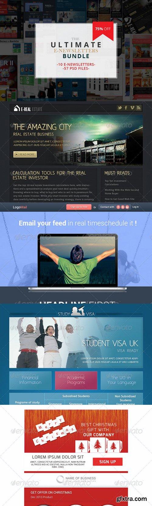 CM - Email Newsletter Templates Bundle 886447
